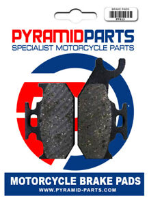 Rear Brake Pads for Suzuki UH125 UH200 Burgman 07-20