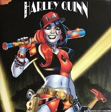 Harley Quinn 2017 Wall Calendar 16 Month NEW SEALED FULL SIZED Suicide Squad NEW