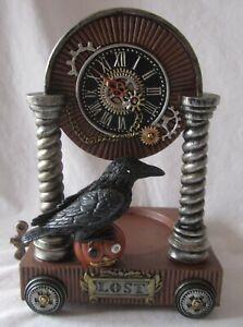 Yankee Candle STEAMPUNK LOST RAVEN Jar Holder #1564737 NEW