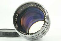 [Exc+++++] Nikon Nippon Kogaku Nikkor S C 50mm 5cm F/1.4 Lens For S Mount JAPAN