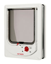 Cat Mate 254W Pet Electromagnetic Cat Flap Door White