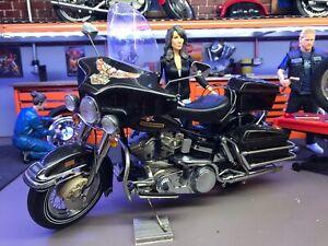 Franklin Mint Harley Davidson Electra Glide 1976 1/10 Motorcycle
