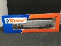 ROCO HO Wagon couvert à paroies coulissantes DB N°47460 en boite