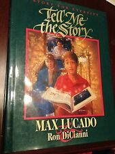 Max Lucado Tell Me a Story, Christian children's illustrated stories hardcover
