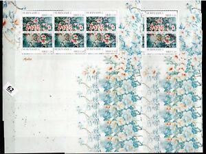 / 10X SURINAME 2011 - MNH - FLORA - FLOWERS