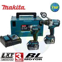 Makita DLX2176TJ 18V BRUSHLESS Combi Drill & Driver Twinpack 2x 5.0Ah Batteries