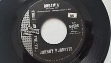 "JOHNNY BURNETTE - Little Boy Sad / Dreamin 1960's POP ROCK Liberty 7"" (NM-)"