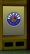 Light Works Usa / Miller Ho/O Scale Lionel Window Sign Lighted #8855