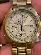 Seiko chronograph Watch. Works Well. New Battery! 7T32 7C60