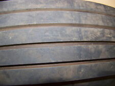 "VINTAGE GENERAL PAVEMENT SKID TEST TIRE 7.5 14"" W/ STEEL WHEEL SQUAD POLICE CAR"