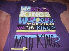 We The Kings Fall Concert Tour 2009  Adult Small T-Shirt