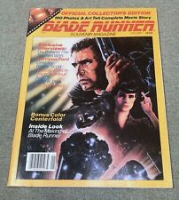 Blade Runner Collectors Edition Souvenier Magazine Volume 1 1982