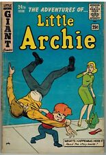 LITTLE ARCHIE #24 1962 GIANT 68 PAGES SILVER AGE!