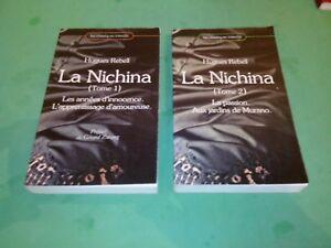 Hugues Rebell - La Nichina (2 tomes) - Les classiques interdits (1980)