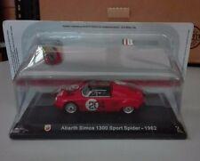"DIE CAST "" ABARTH SIMCA 1300 SPORT SPIDER - 1962  "" + TECA  BOX 2 SCALA 1/43"