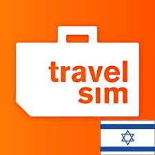 TravelSim Welt Prepaid Sim Karte für die Reise nach Israel mit 5 GB Daten