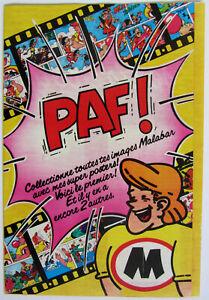 Rare poster Malabar 1980 PAF ! - état neuf