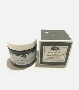 Origins Clear Improvement Charcoal Honey Mask FULL SIZE - 2.5 oz - NIB
