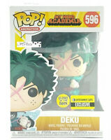 New Funko Pop My Hero Academia Deku  #596 Gitd Entertainment Earth Exclusive