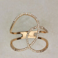 Solid 14k Yellow Gold Natural 0.46 Ct. Diamond Pave Ring Handmade Fine Jewelry