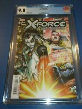 X-Force #4 Dawn of X X-men CGC 9.8 NM/M Gorgeous gem Wow