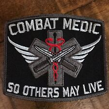 "Combat Medic ""So Others May Live"" Patch"