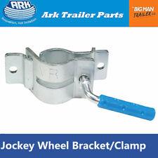 Clamp Bracket Trailer Jockey Wheel Stand 2 holes Bolt on 350kg Ark FCL50