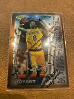 Kobe Bryant 1996-97 Topps Finest Rookie Card 74 With Coating Rc