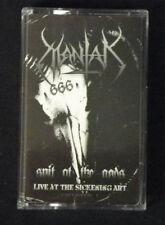 MANTAK - Spit At The Gods. Black Tape Cassette