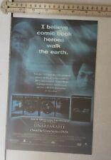 Unbreakable Movie Bruce Willis Rare Print Advertisement