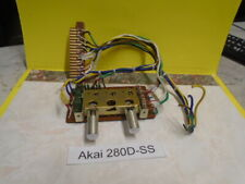 Akai 280D-SS Equalizer P.C. Board (KF-2014) Tape Speed 71/2 33/4  Used