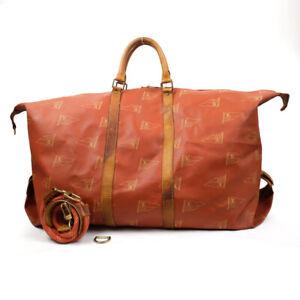 LOUIS VUITTON 1995 Louis Vuitton Cup Boston Bag Boston Bag Abogany Leather O...