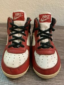 Vtg 1985 Nike AIR JORDAN I 1 Baby SHOES ORIGINAL OG Toddler Size 3 Infant Rare