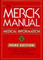 The Merck Manual of Medical Information, Home Edition, 3rd prt (1997, Hardback)