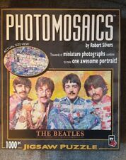 THE BEATLES SGT PEPPERS'  LONELY... Photomosaics PUZZLE by Robert Silvers: USED