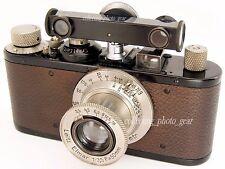 Leica hfook ATTACCO Telemetro NERO SMALTO CROMATO Dial in metri tramite LEITZ