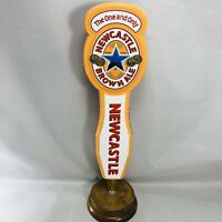 New Castle Brown Ale The One and Only Beer Keg Tap Handle Double Sided 11""