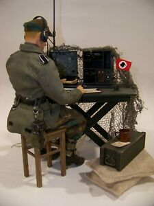 DRAGON DID SOLDIER STORY 1:6 SCALE WWII GERMAN ELITE UNIT RADIO OPERATOR