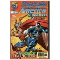 Captain America (1998 series) #5 in Near Mint condition. Marvel comics [*x0]