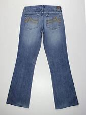 DKNY womens Size 7 reg leg 31L Times Square Flare bootcut blue jeans