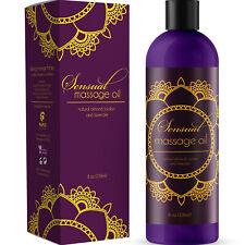 Sensual Massage Oil - Edible Massage Oil for Men and Women - Anti Aging Cream