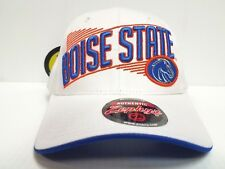 Boise State Broncos Cap Zephyr Adjustable Snapback Crossover White Hat NCAA