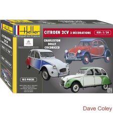 Heller 80767 1:24th scale Citroen 2 CV Decorations Special