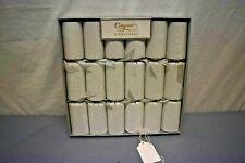 Caspari 6 Crackers Silver Glitter Caspari