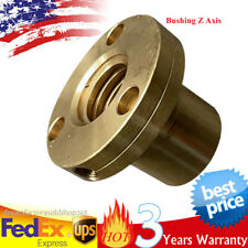 1x Bridgeport Milling Machine Parts Bushing Z Axis Screw Copper Brass Nut