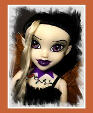 Rare VHTF BeGoths Bleeding Edge Goth Olivia O'Lantern Purple Doll Series 7