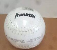 1/Franklin Sports Official League Leather Baseball.& 1/DUDLEY +(ONE FREE)