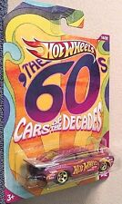 HOT WHEELS 2011 PURPLE '65 VOLKSWAGEN FASTBACK 60'S CARS OF THE DECADES RARE HTF