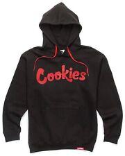 NWT Authentic Berner Cookies Clothing CKS Original Logo Black/Red Hoodie