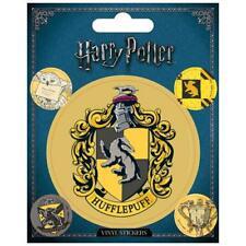 Harry Potter Hufflepuff Crest Sheet of Vinyl Stickers